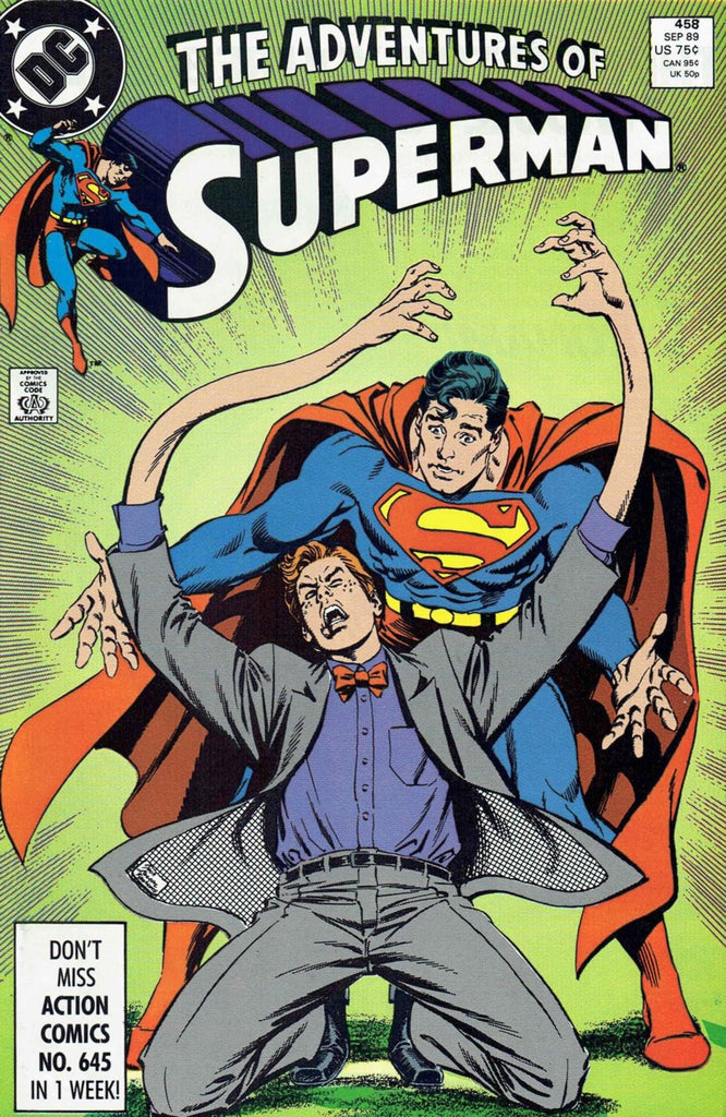 Adventures of Superman #458