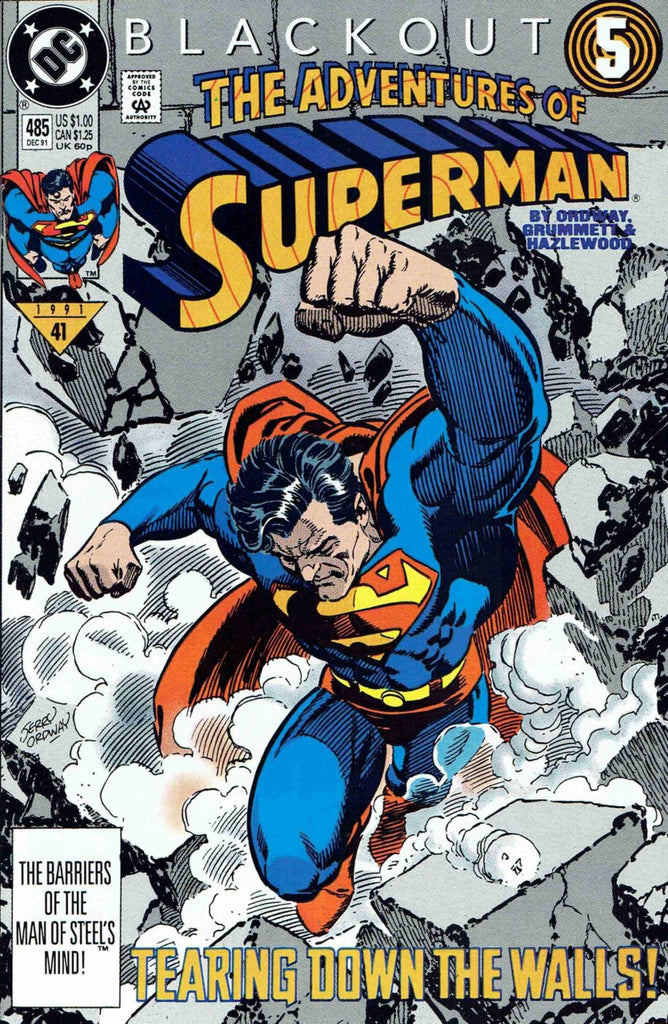 Adventures of Superman #485