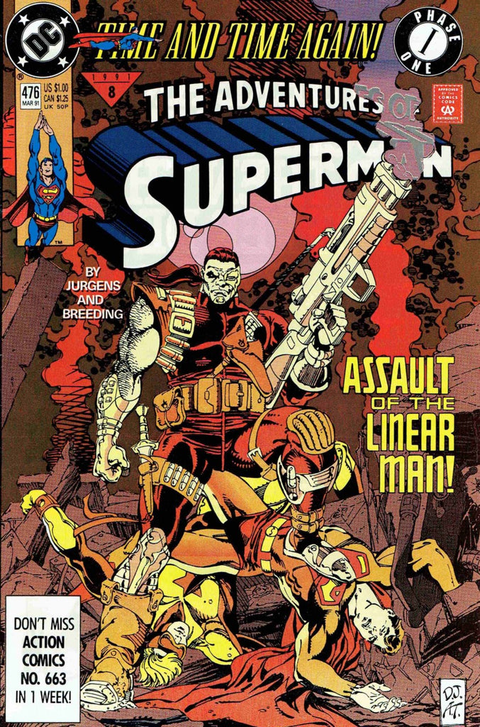 Adventures of Superman #476