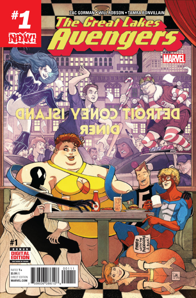 Great Lakes Avengers #1