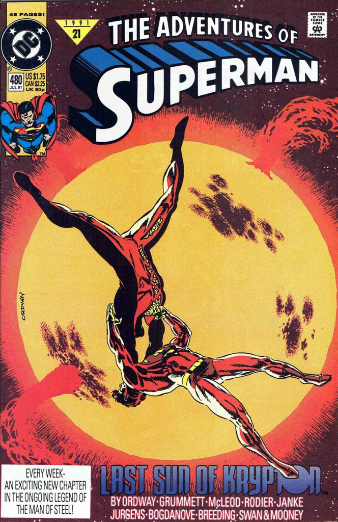 Adventures of Superman #480