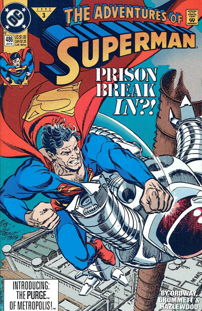 Adventures of Superman #486
