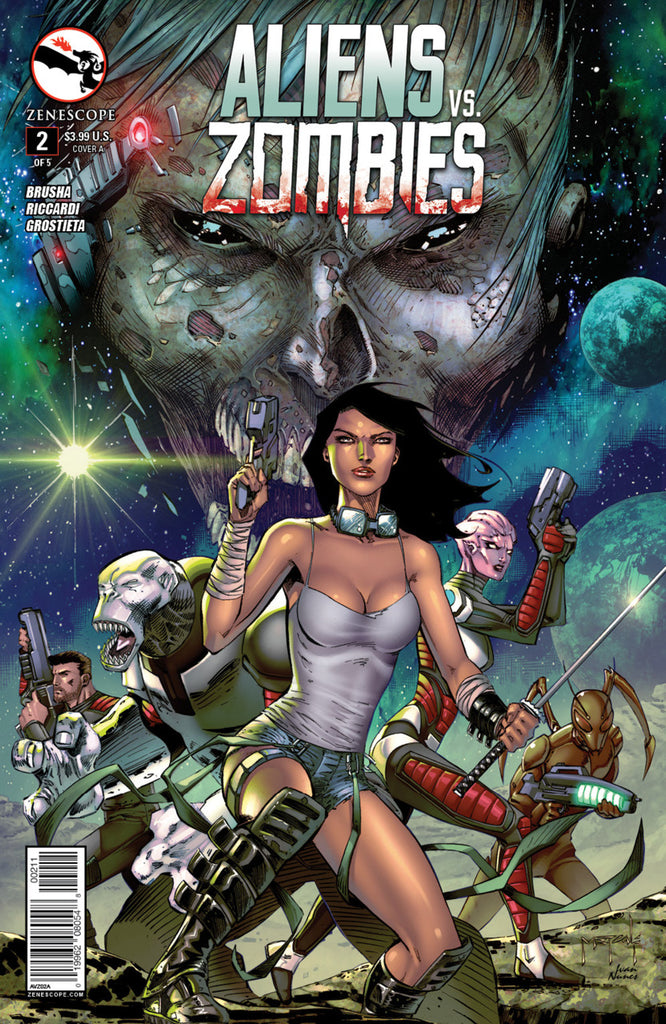 Aliens vs. Zombies #2
