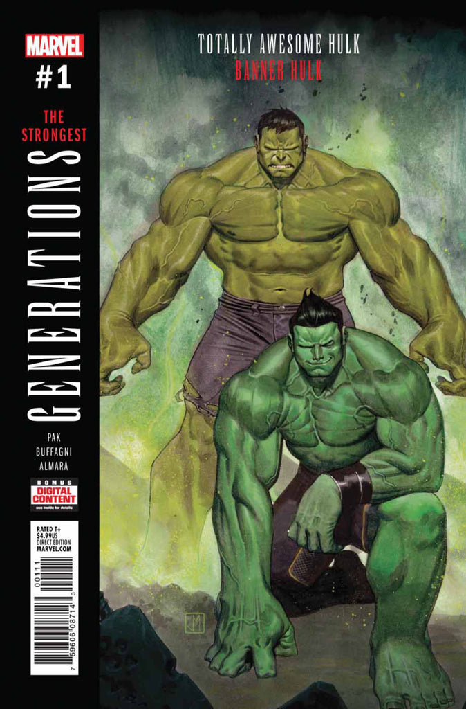 Generations: Totally Awesome Hulk & Banner Hulk #1