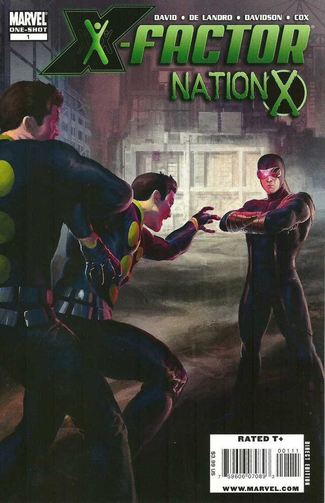 X-Factor: Nation X #1