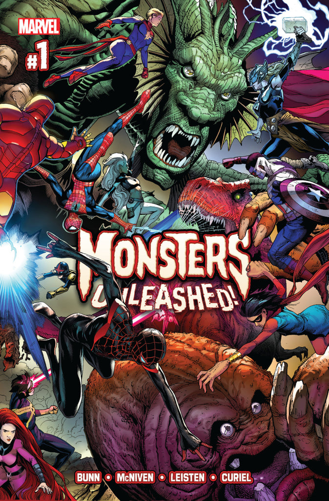 Monsters Unleashed (Vol 1) #01