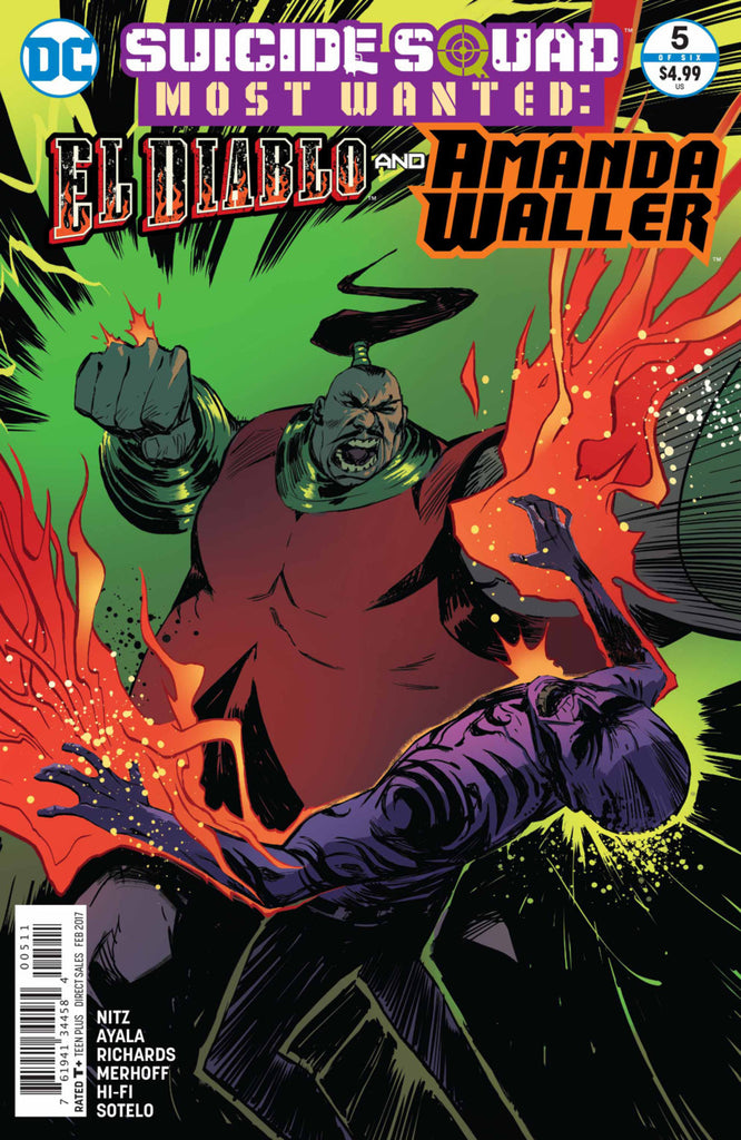 Suicide Squad Most Wanted: El Diablo & Amanda Waller #5