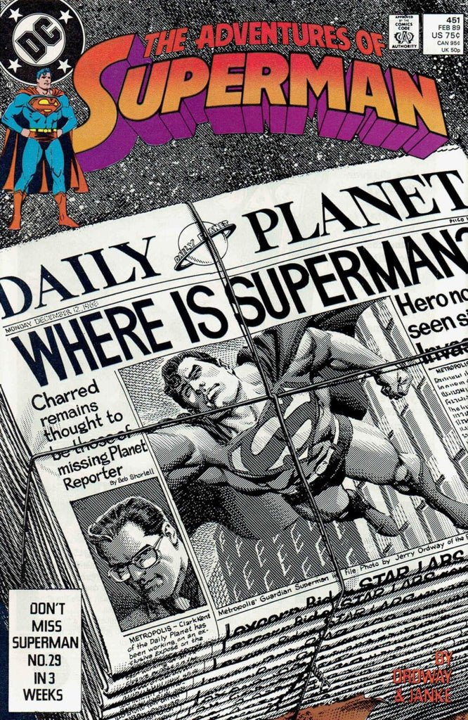 Adventures of Superman #451