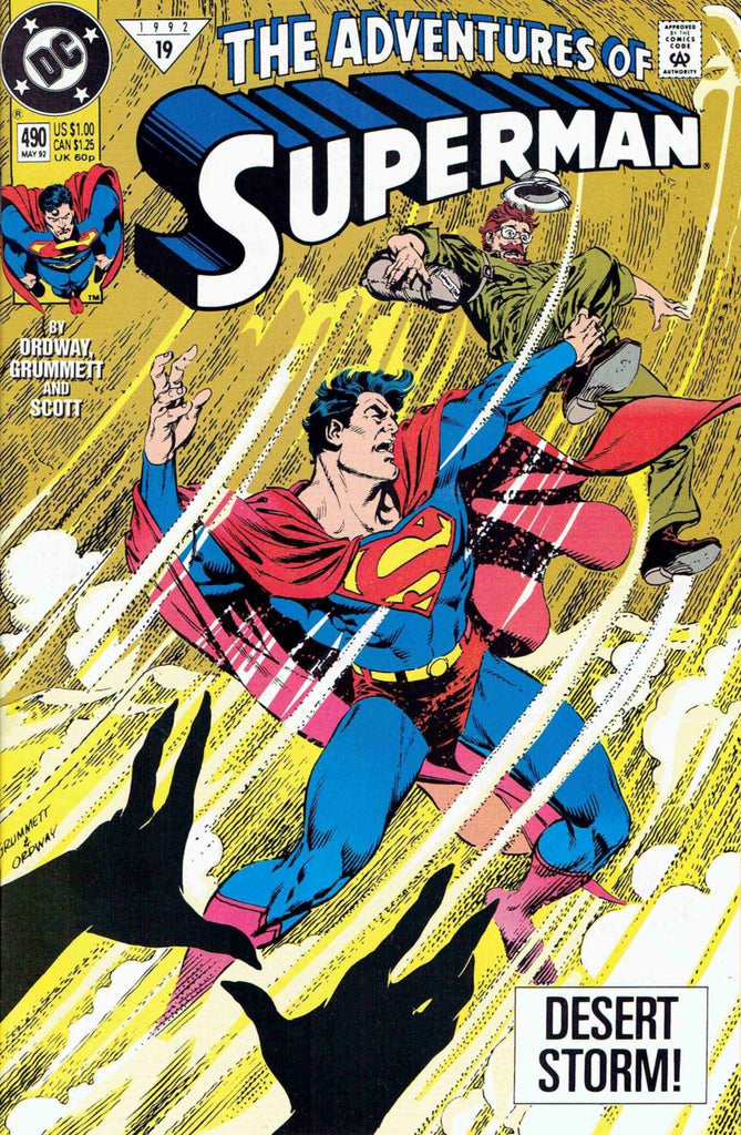 Adventures of Superman #490