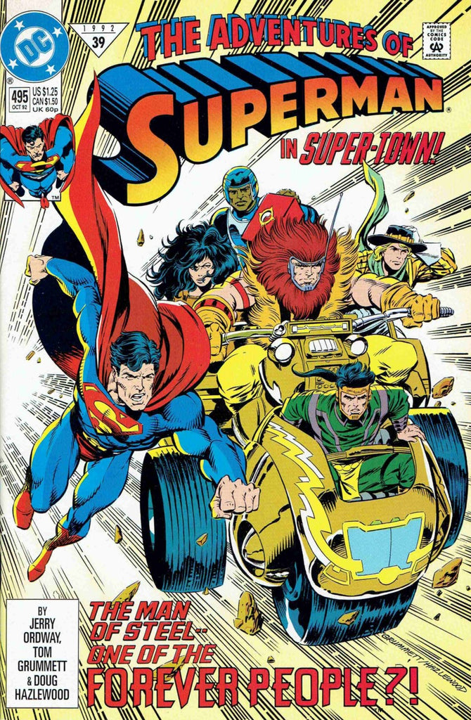 Adventures of Superman #495