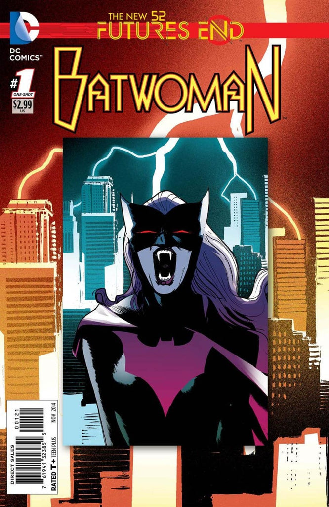 Batwoman: Futures End #1 Lenticular
