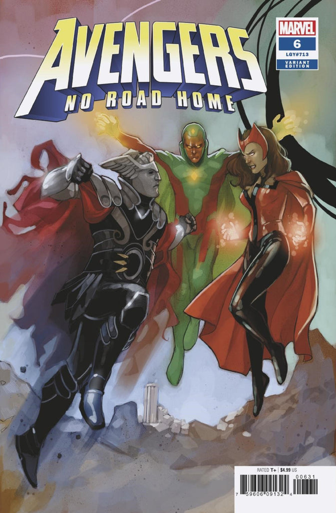 Avengers: No Road Home #06 - Noto Variant