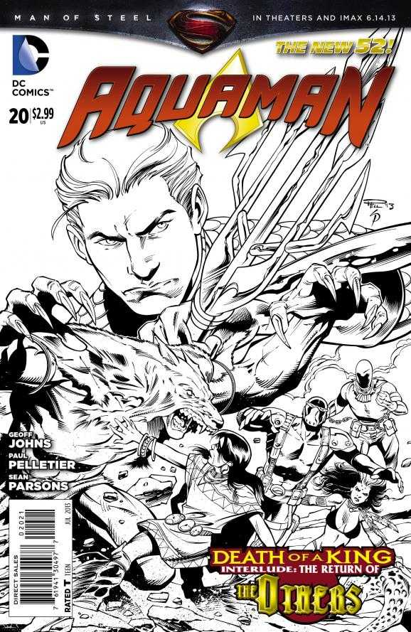DC Comics - Aquaman #49 (New 52) - Neal Adams Variant Cover