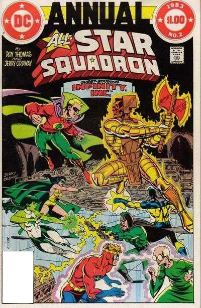 All-Star Squadron Annual #02