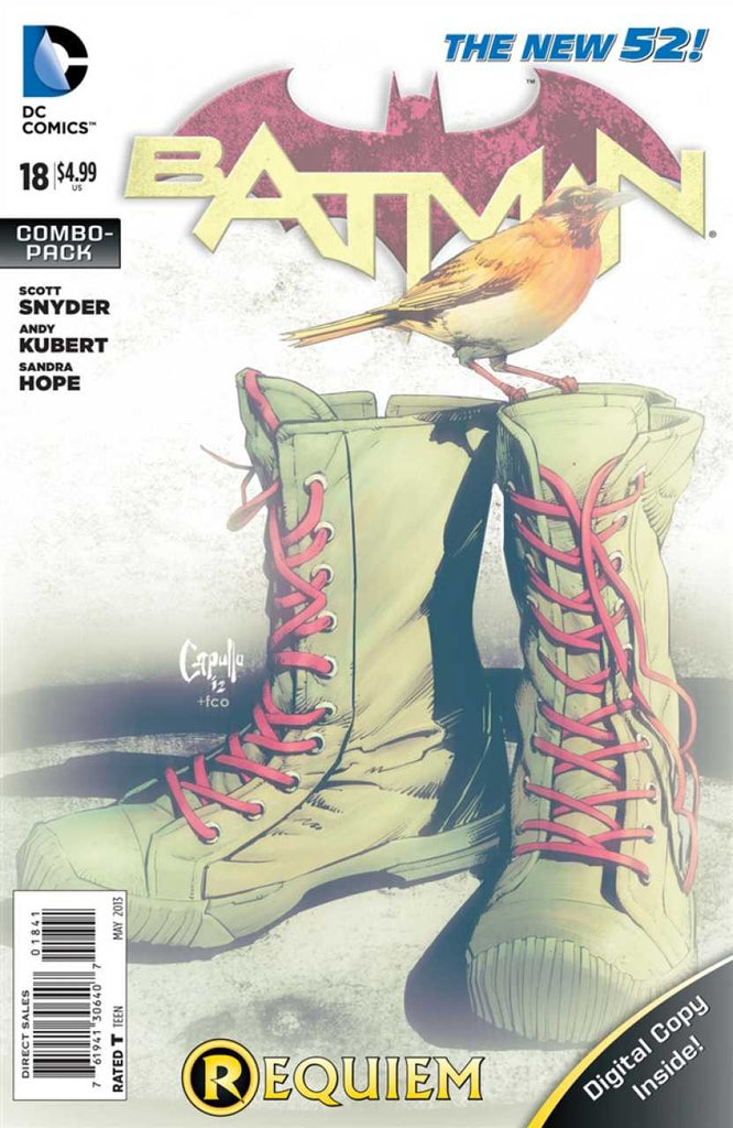 Batman (2011) #18 - Combo Pack