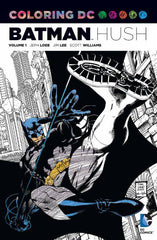 Batman Hush: Coloring DC