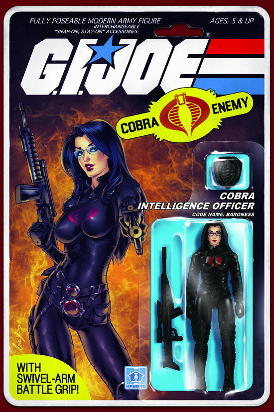G.I. Joe: RAH #216 - Baroness Action Figure Variant