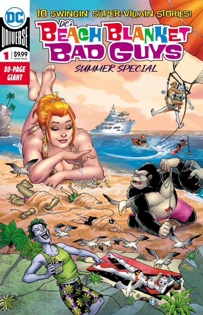 DC's Beach Blanket Bad Guys Summer Special