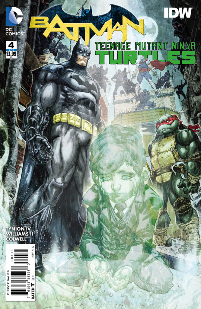 Batman Teenage Mutant Ninja Turtles #04