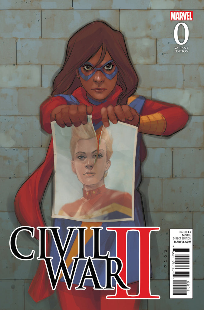 Civil War II Noto 9x Variant Set