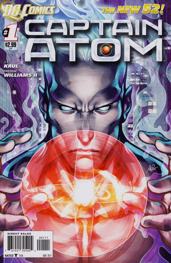 Captain Atom (2011) 9x Lot
