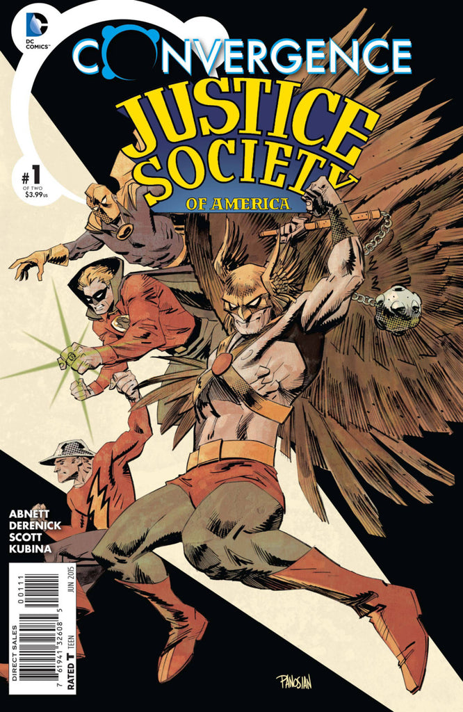 Convergence: Justice Society of America 2x Set