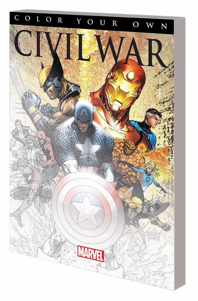Civil War: Color Your Own