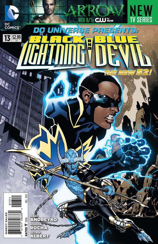 DC Universe: Black Lightning and Blue Devil 4x Set