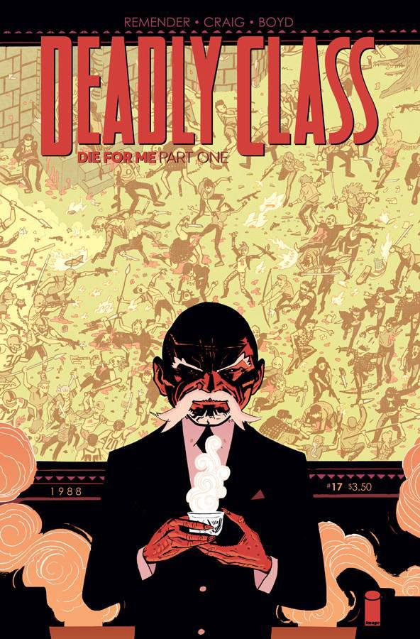 Deadly Class: Die for Me 5x Set A
