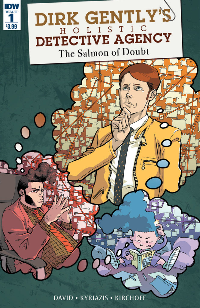 Dirk Gently: Salmon of Doubt 9x Set