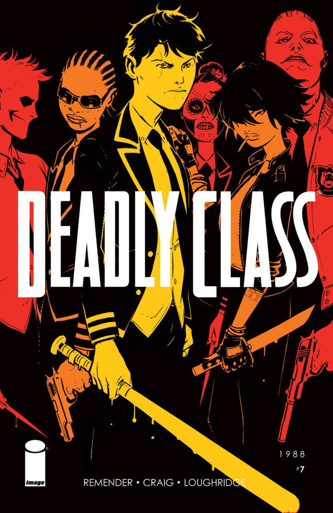 Deadly Class: Kids of the Black Hole 5x Set