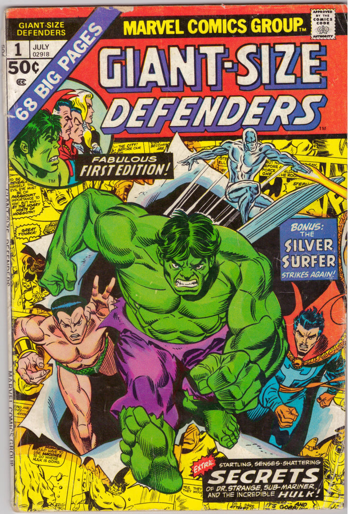Giant Size Defenders #01
