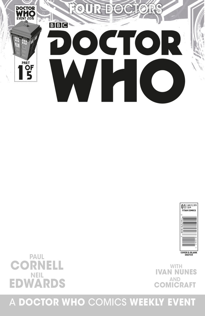Doctor Who: Four Doctors #1