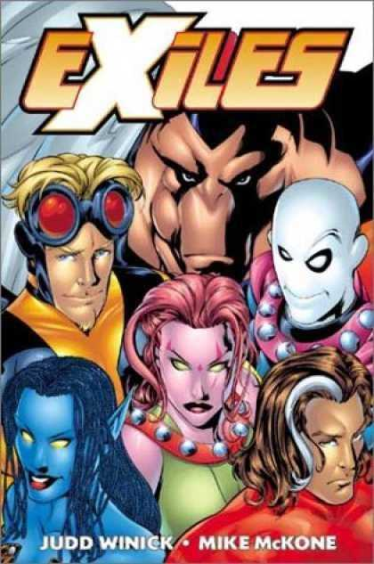 Exiles Vol 1 - Down the Rabbit Hole