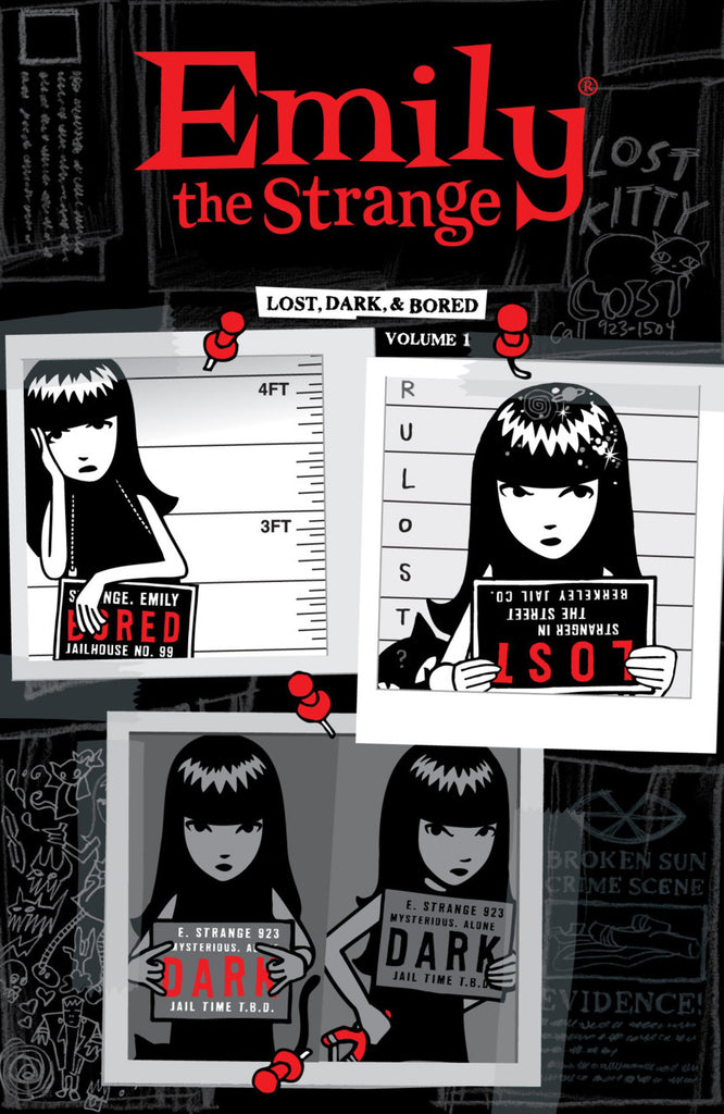 Emily the Strange Vol 1 - Lost, Dark, & Bored