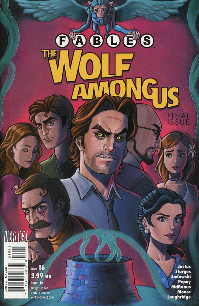 Fables: Wolf Among Us #16