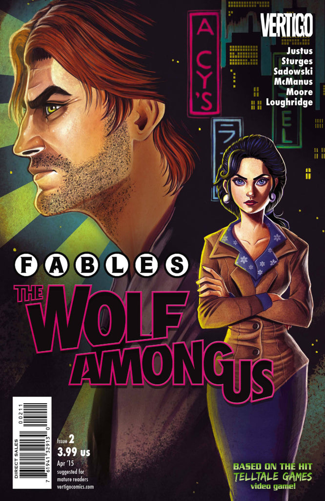 Fables: Wolf Among Us #2