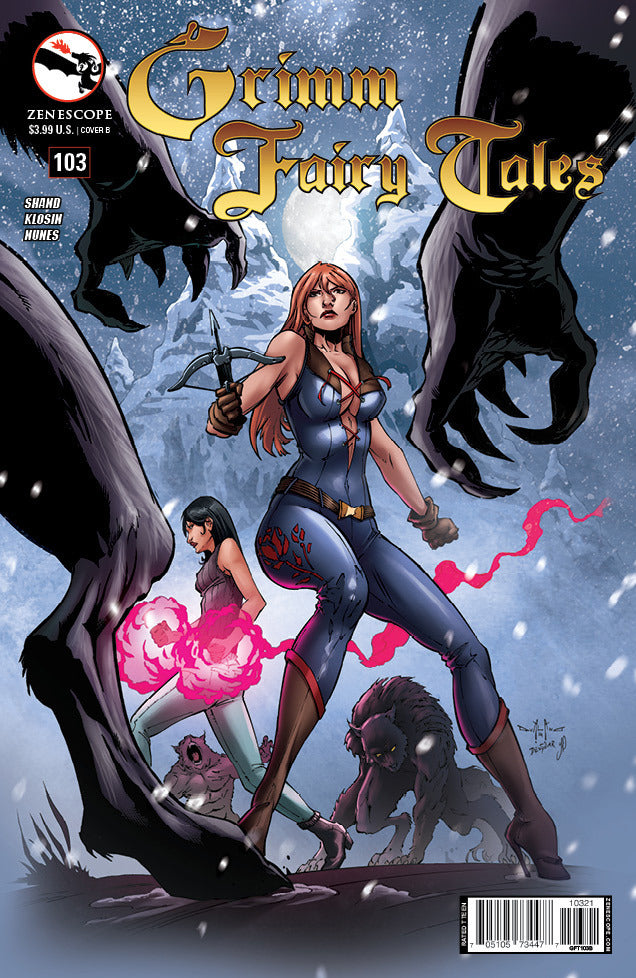 Grimm Fairy Tales #103 - B Cover