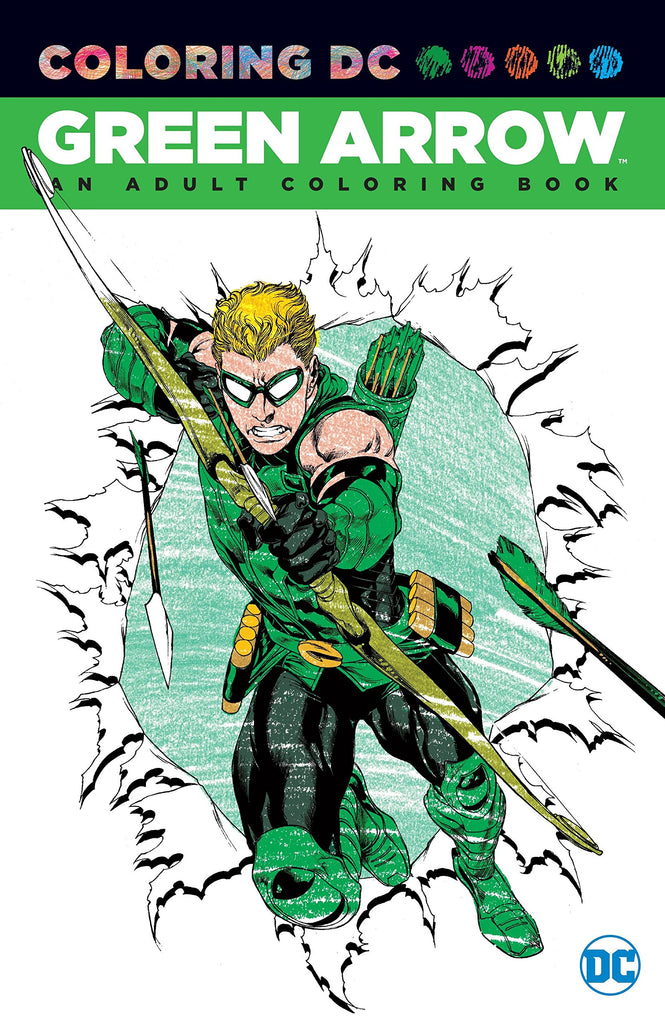 Green Arrow: Coloring DC