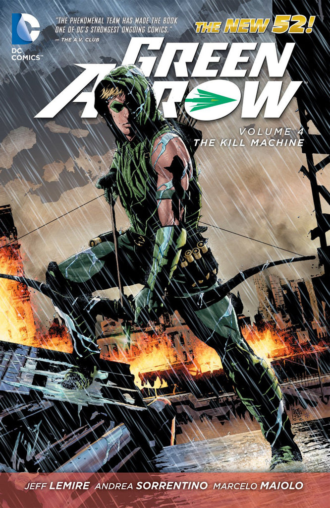 Green Arrow (N52) Vol 4