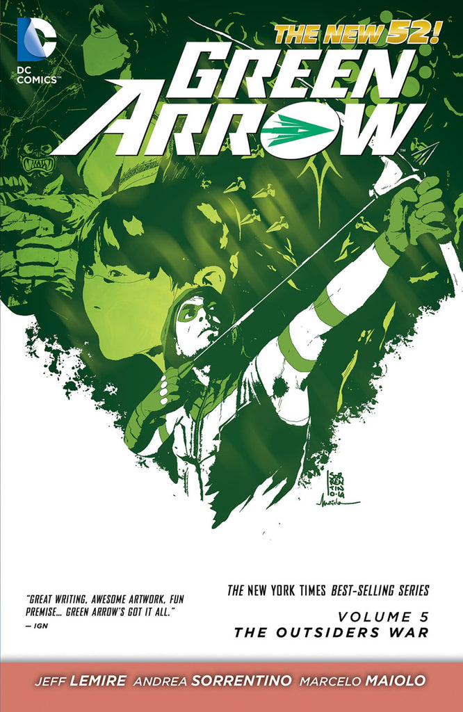 Green Arrow (N52) Vol 5