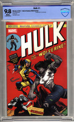 Marvel - Hulk #1 (Cvr A) The Hall of Comics/CBCS Ed McGuinness Exclusive Color Variant Cover - CBCS 9.8