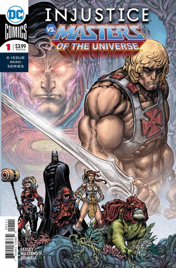 Injustice vs Masters of the Universe #01 - A Cover