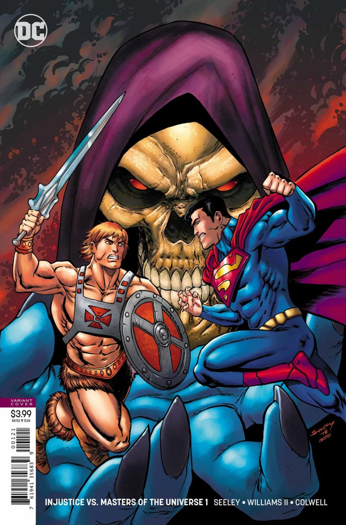 Injustice vs Masters of the Universe #01 - B Cover