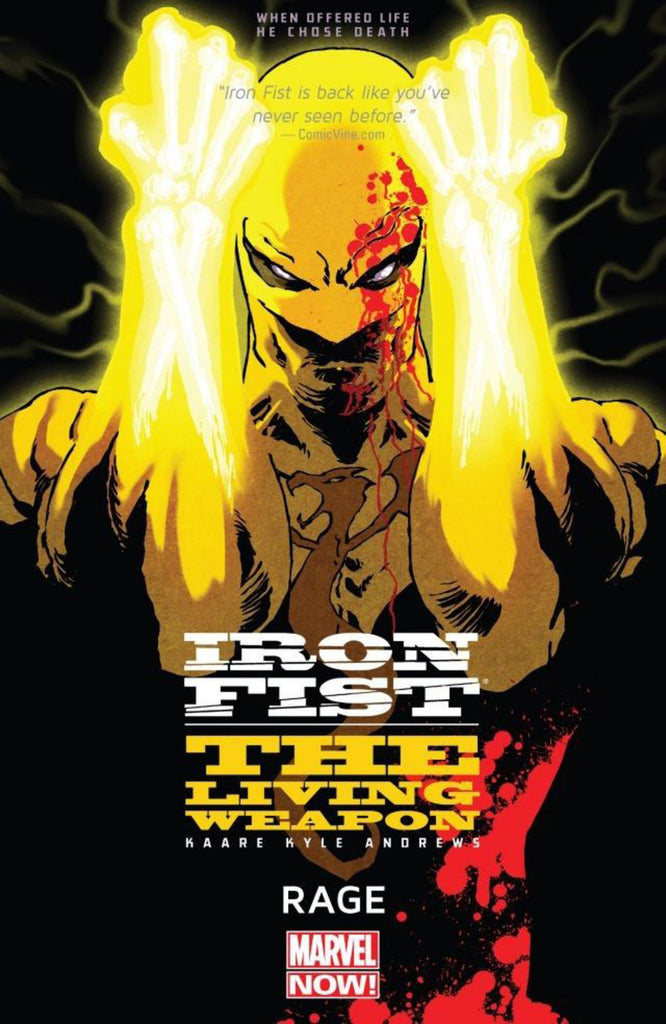 Iron Fist: The Living Weapon Vol 1 - Rage