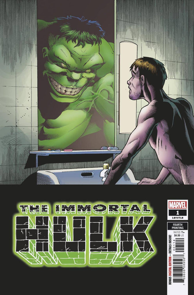 Immortal Hulk #01 - 4th Print