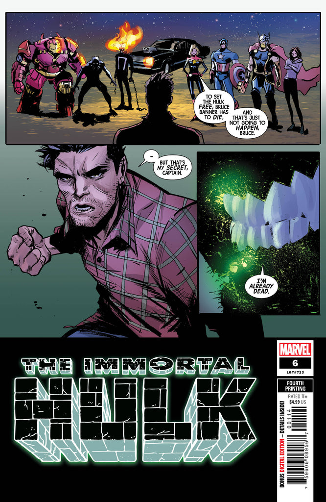 Immortal Hulk #06 - 4th Print