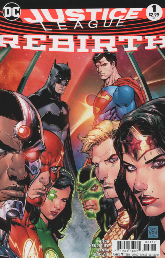 Justice League (2016) Rebirth #01 - 2nd Print