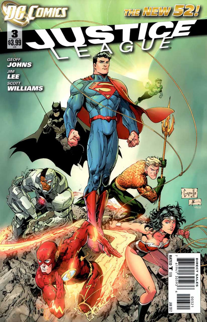 Justice League (2011) #03 - Variant