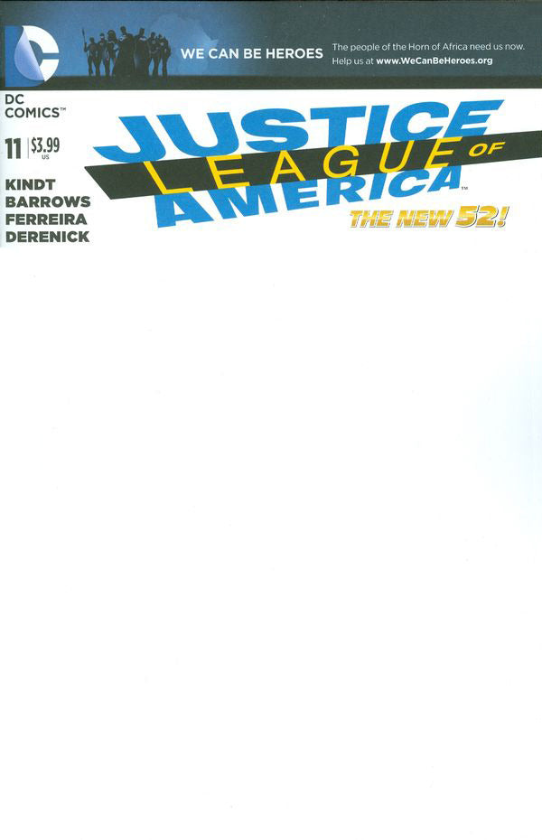 Justice League of America (2013) #11 - Blank
